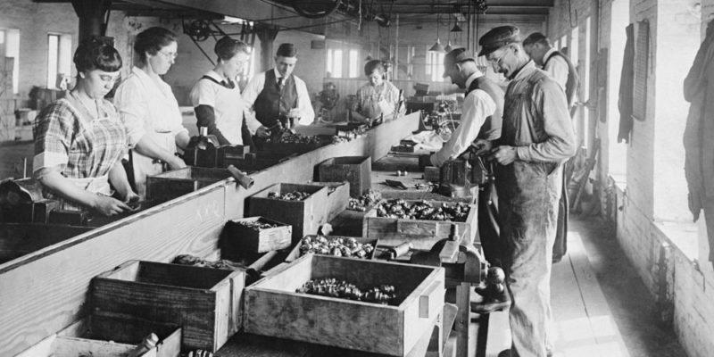 Desarrollo económico - Revolución Industrial