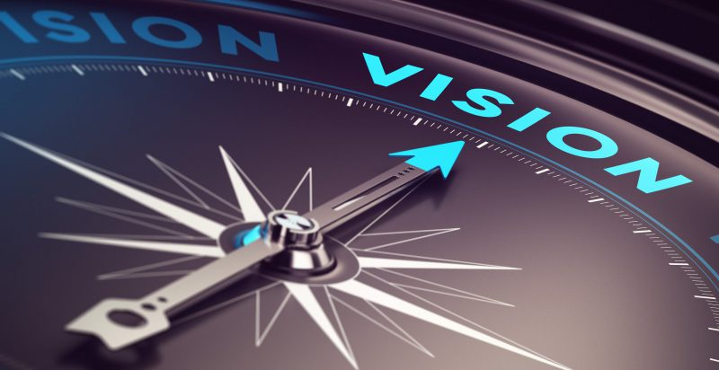 vision y mision de una compania