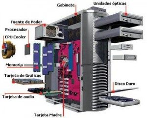 (Componentes Hardware de una PC.)