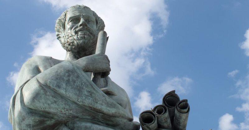 filosofia - socrates estatua