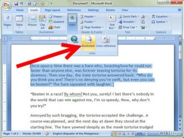 (Qué es Microsoft Word. Screenshot del software.)