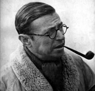 """(Jean Paul Sartre: """"El existencialismo es un humanismo"""".)"""