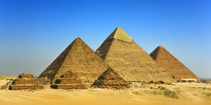 Trigonometría - Pirámides de Egipto