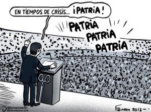 (El nacionalismo aumenta en las crisis)