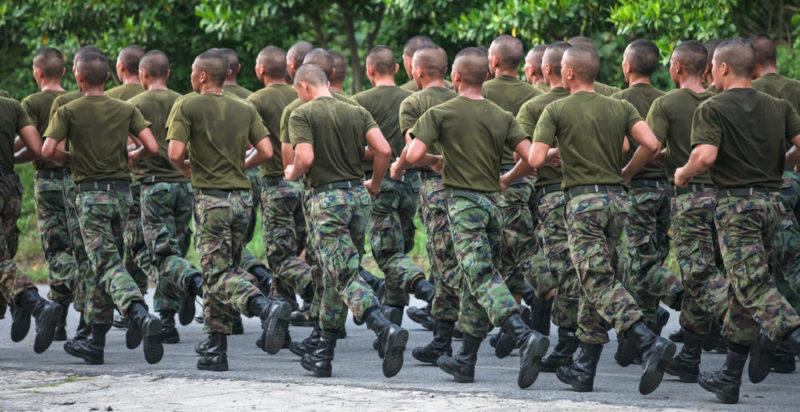 Formación militar