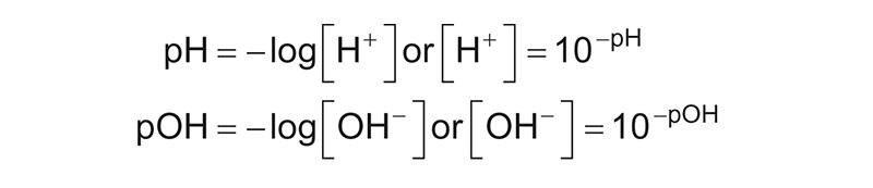 formula del ph