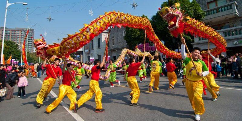 tradicion ejemplos danza dragones chinos