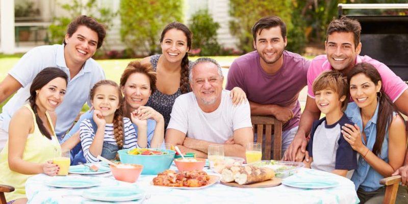 reuniones familiares