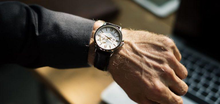 puntualidad - reloj