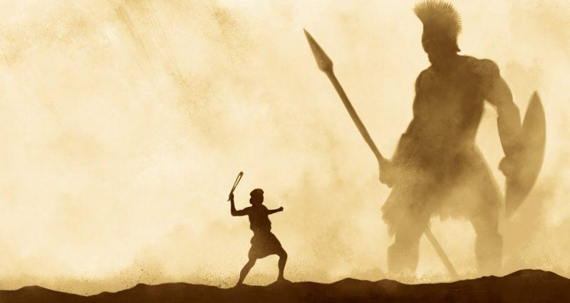 Leyenda - David y Goliat