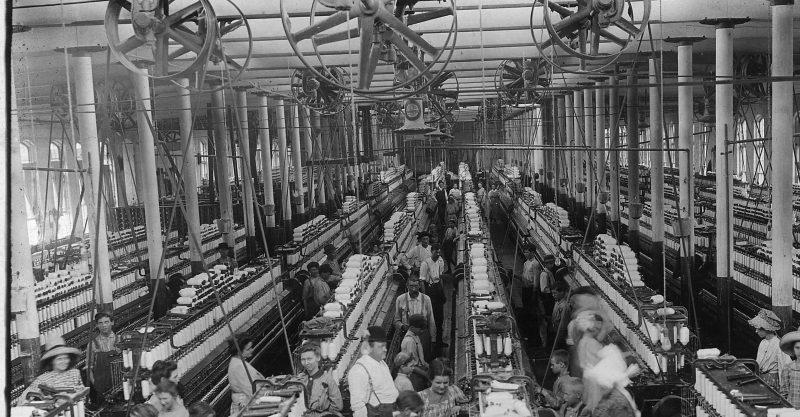 revolucion industrial - fabrica