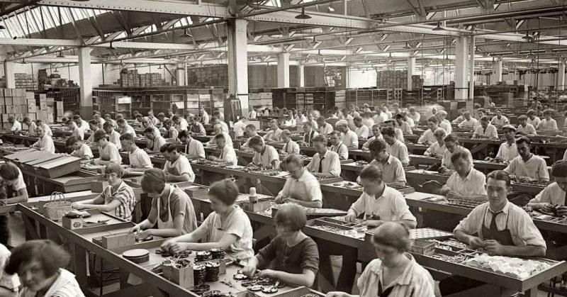 revolucion industrial - trabajadores