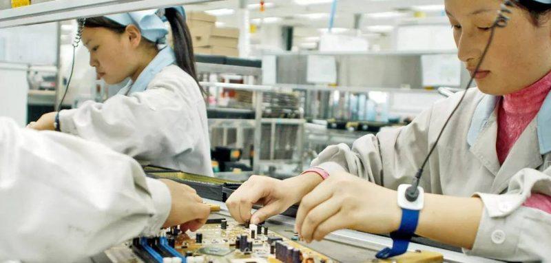 trabajadores fabrica