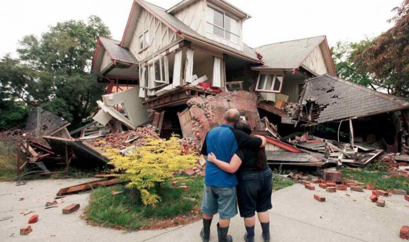 casa - terremoto