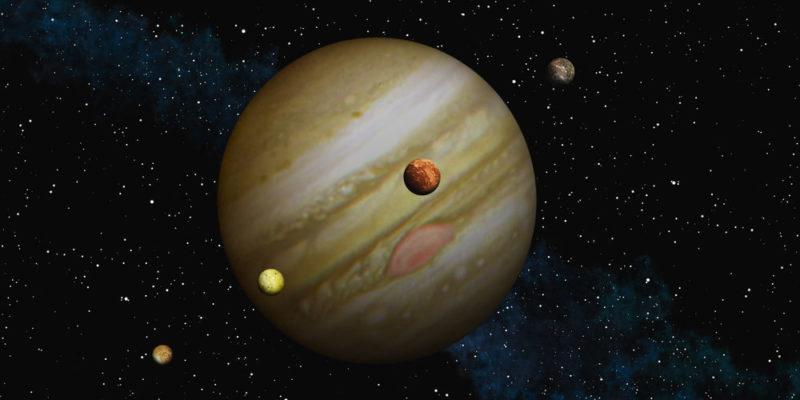 Lunas de Júpiter - Información, descubrimiento, nombres, distancias