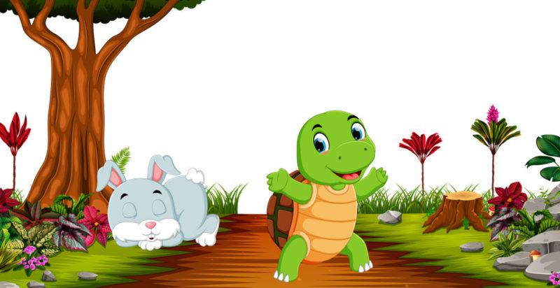 Moraleja - la liebre y la tortuga