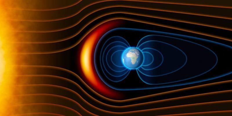 aurora boral polar viento solar magnetosfera