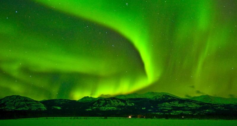 aurora boreal - canada yukon