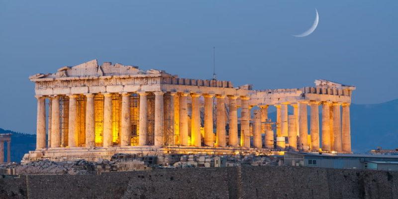 cultura griega acropolis
