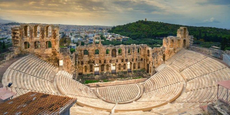 cultura griega teatro arte