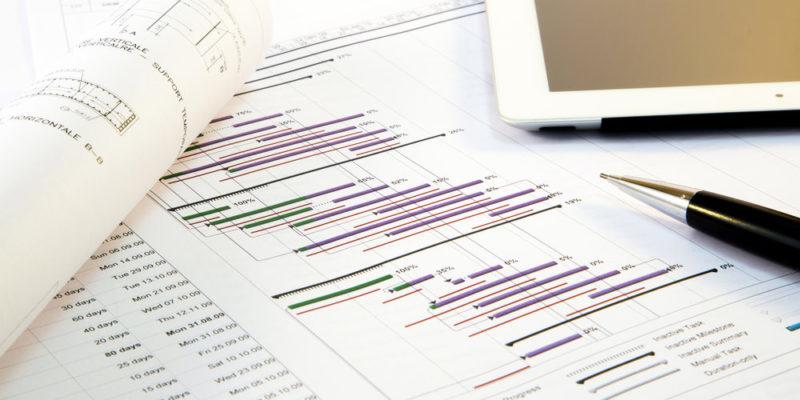 diagrama de Gantt - gestión de proyectos