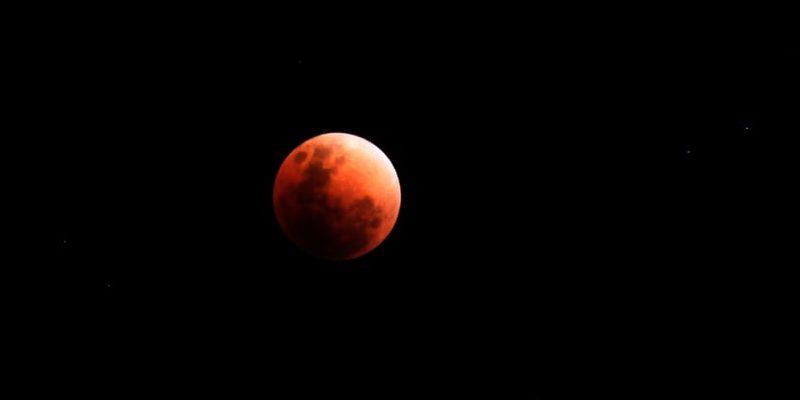 eclipse lunar fotografia real