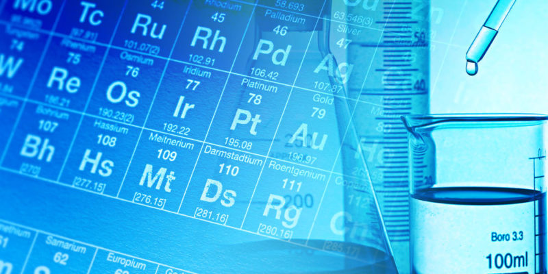 Elementos químicos - fórmula química