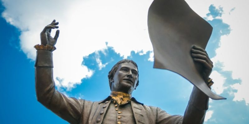 trece colonias estados unidos historia declaracion de la independencia