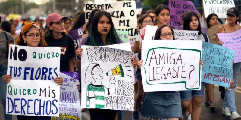 feminicidio femicidio violencia de genero protesta feminismo
