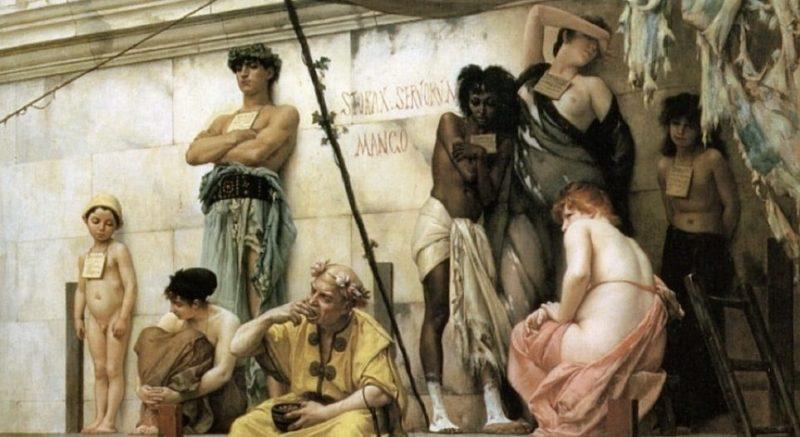 modelo de produccion esclavista grecia mercado