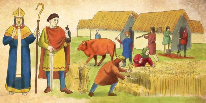 modo de produccion feudad edad media medieval feudalismo clases sociales noble clero campesinos
