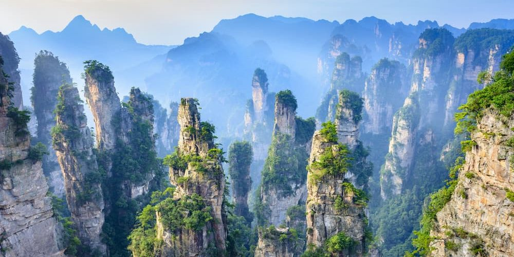 patrimonio cultural natural parque forestal nacional zhangjiajie