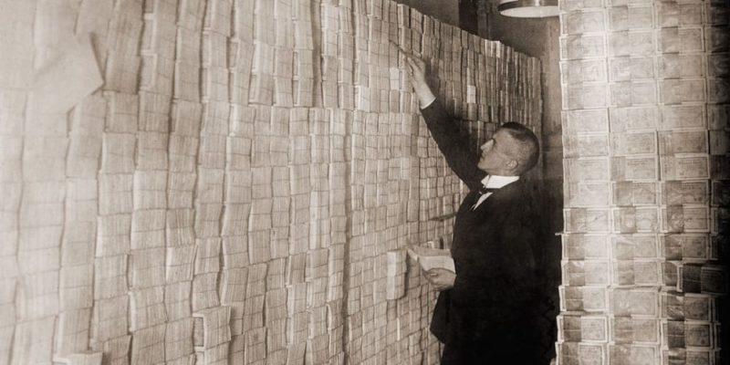 tratado de versalles republica de weimar inflacion