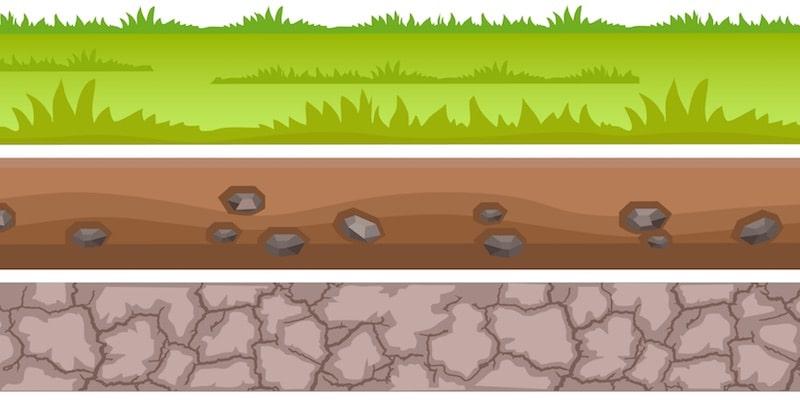 capas del suelo