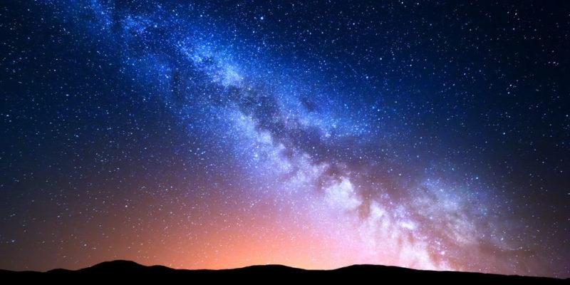 galaxia via lactea cielo