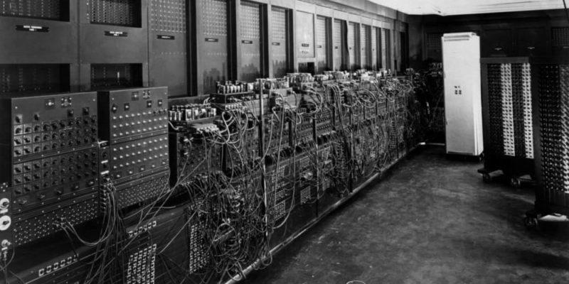 generaciones de las computadoras eniac