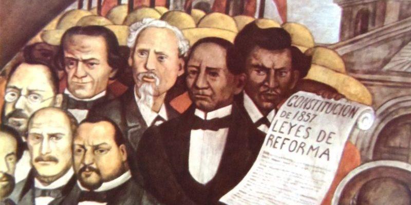 guerra de reforma leyes-de-reforma mural diego rivera