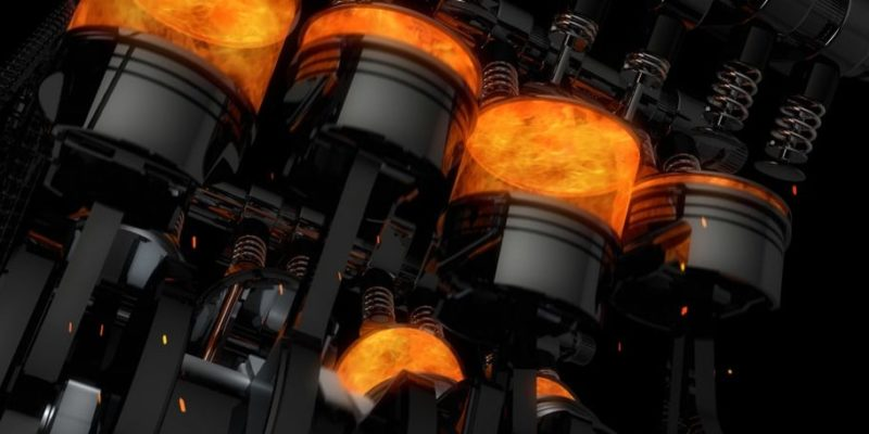 combustion ejemplo motor
