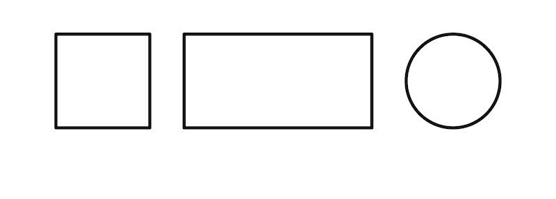 cuadrado rectangulo circulo figuras geometricas