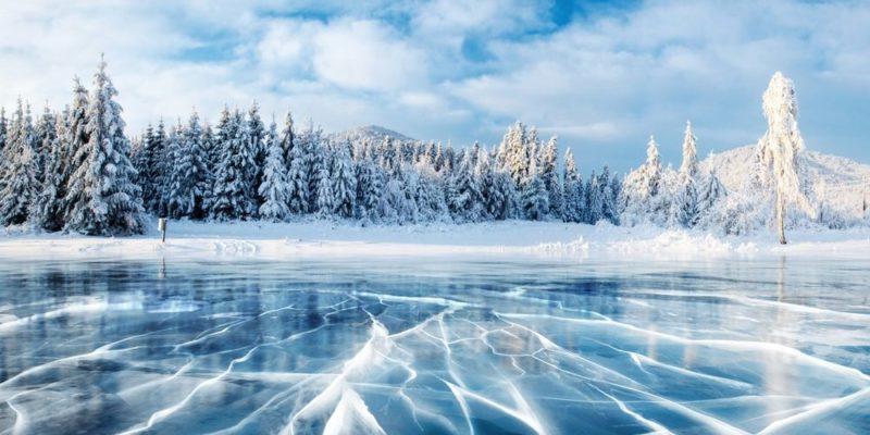 estados del agua sólido hielo