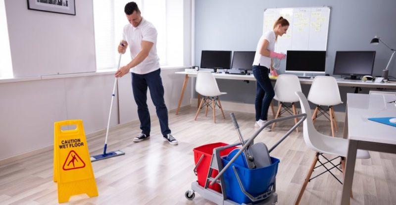 estructura organizacional staff de apoyo limpieza