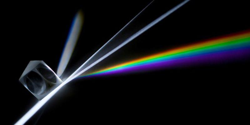 optica geometrica prisma arcoiris
