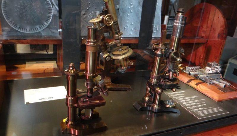 optica historia microscopio