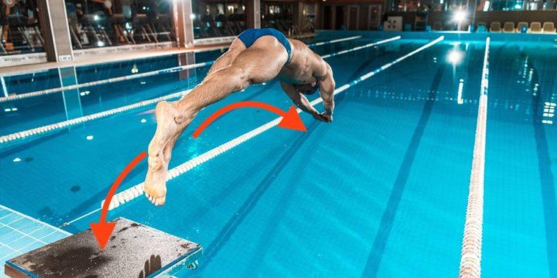 tercera ley de newton ejemplo salto