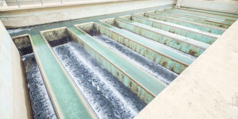 tratamiento de aguas residuales filtro de arena