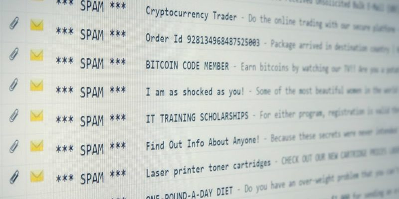 correo electronico spam