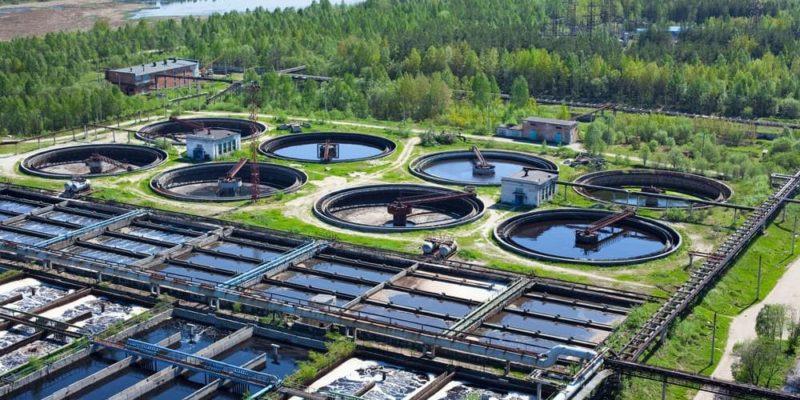 cuidado del agua ecologia planta de tratamiento