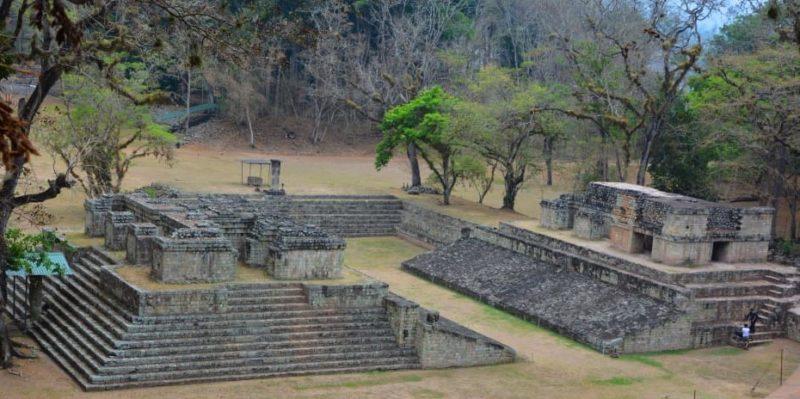 cultura maya juego de pelota honduras arquitectura