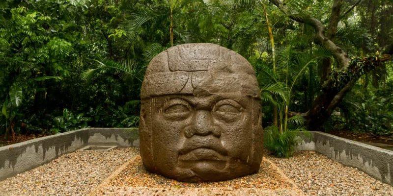 cultura olmeca cabeza gigante mesoamerica