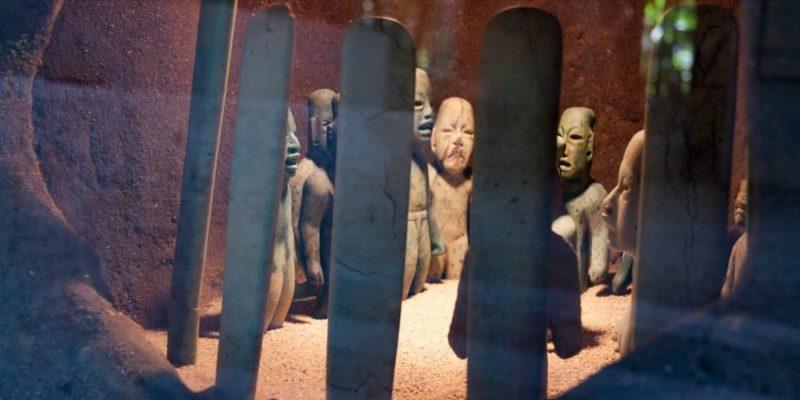 cultura olmeca entierro la venta religion